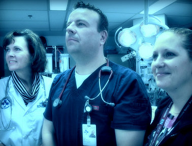 NENA Members at the Ottawa Hospital Emergency Department